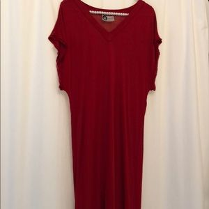 Lanvin Red Dress